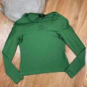 Max Mara Weekend Crew Long Sleeve Shirt Top 41